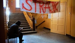 Strajk nauczycieli 2019.