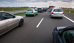 Autostrada A4 zablokowana. Wypadek cysterny