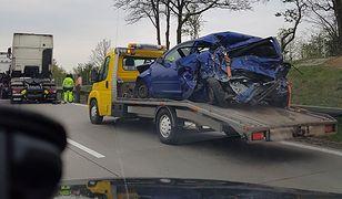 Tragiczna seria na A4. Autostrada zablokowana