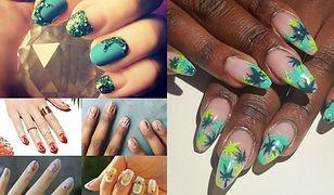 698a71eacb Kolorowe motywy na paznokciach to świetny pomysł na lato (Fot.  misspopnails