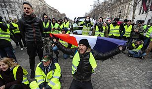 Francja: masowe protesty i setki policjantów.