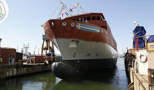 Szwedzki okręt szpiegowski SIGINT zwodowany w Gdyni