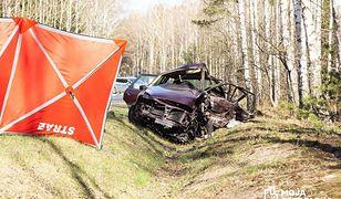 Kadzidło: tragiczny wypadek na DK 53. Jedna osoba nie żyje