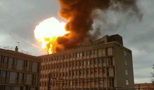 Francja: seria wybuchów na uniwersytecie w Lyonie (wideo)