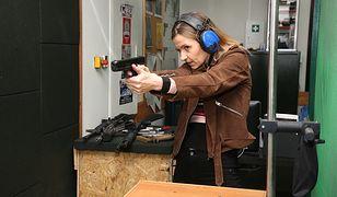 Joanna Koroniewska uczy się strzelać. Wszystko ze względu na nową rolę w serialu