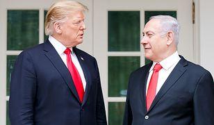 Izrael. Premier Netanjahu chce nazwać miasto na cześć Donalda Trumpa
