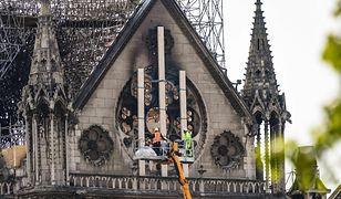 Katedra Notre Dame. Tuż przed tragedią zamontowano kamerę