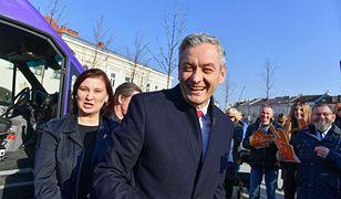 Wpadka Roberta Biedronia na konwencji w Kielcach