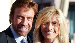 Chuck Norris z żoną Geną O Kelley