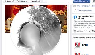 Zdjęcie profilowe KFC zmieniono. Nie wiadomo, czy to atak, czy celowa akcja marketingowa.