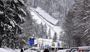 Pogoda Zakopane - niedziela 20 stycznia. Skoki narciarskie przy niewielkim mrozie