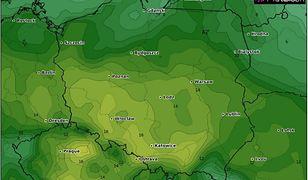 Prognoza pogody na Lany Poniedziałek. Woda z nieba tylko w Warszawie i Krakowie. W pozostałej części kraju słonecznie