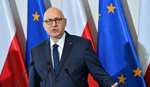 Joachim Brudziński o działaniach policji ws. Stefana W. Twarde zapewnienie