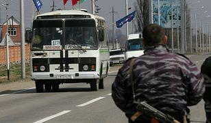 Rosja: kobieta wysadziła się przed posterunkiem policji