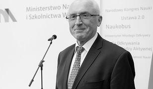 Polityczne komentarze po śmierci rektora. Uczelnia zabiera głos