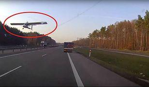 Policja szuka pilota awionetki. Leciał zbyt nisko nad S3