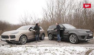 3 zadania: Porsche Cayenne E-Hybrid vs Range Rover Sport P400e - porównanie hybrydowych SUV-ów