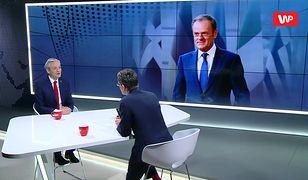 Robert Biedroń: nie buchnąłem białego konia Donaldowi Tuskowi