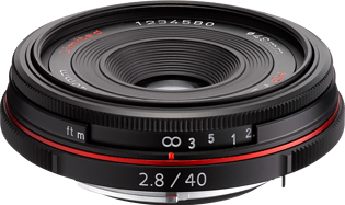HD Pentax DA 40mm F2.8 Limited