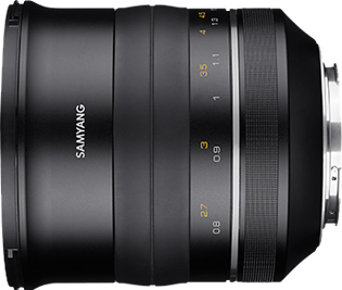 Samyang Premium MF 85mm F1.2