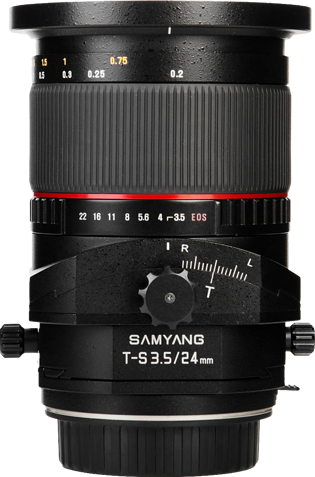 Samyang T-S 24mm F3.5 ED AS UMC