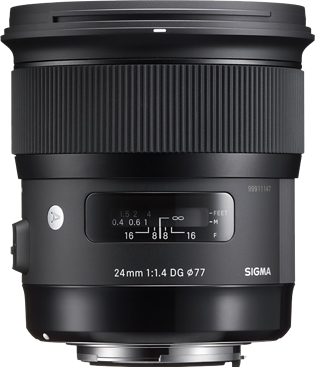 Sigma 24mm F1.4 DG HSM Art