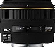 Sigma 30mm F1.4 EX DC HSM