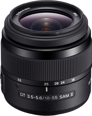 Sony DT 18-55mm F3.5-5.6 SAM II