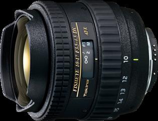 Tokina AT-X 10-17mm f/3.5-4.5 DX Fish-eye