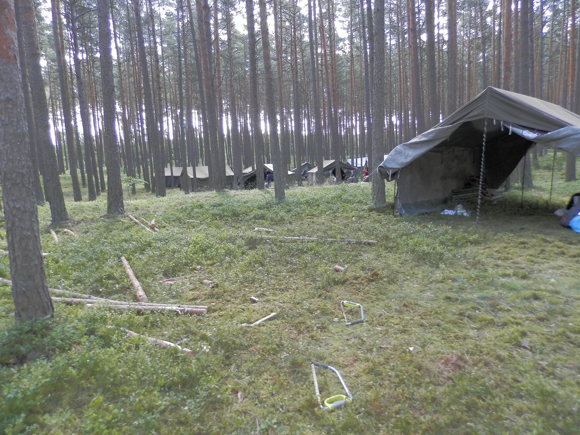 Obóz w Suszku.