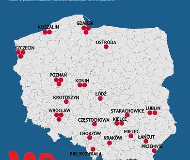 Mapa Najnowsze Informacje Wp Wiadomosci