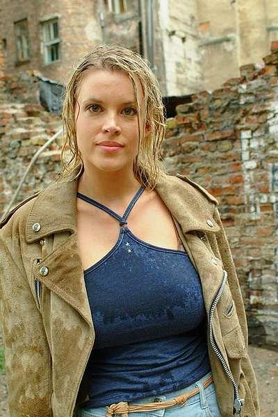 Busty Magda nude