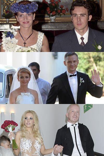 2e2a6e3e93 Najbrzydsze suknie ślubne w polskim show-biznesie! - WP Gwiazdy