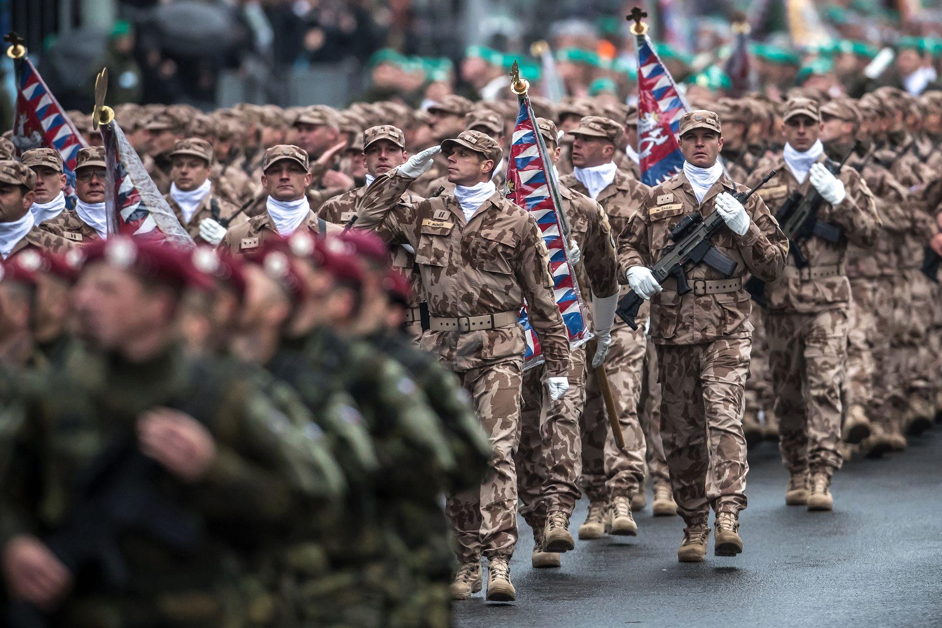 Defilada wojskowa w Czechach