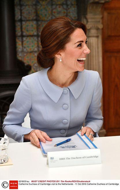 Elegancki Koczek Fryzury Kate Middleton Wp Kobieta