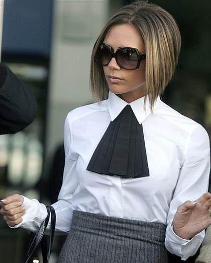 Victoria Beckham Fryzury Gwiazd Propozycje Na Karnawał