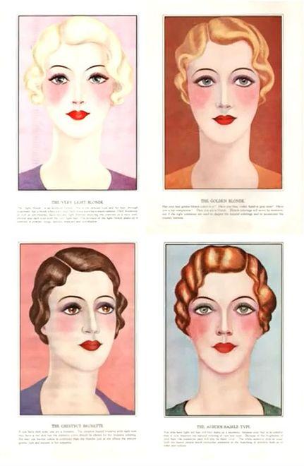 Trendy W Makijażu Lat 30 Wp Kobieta