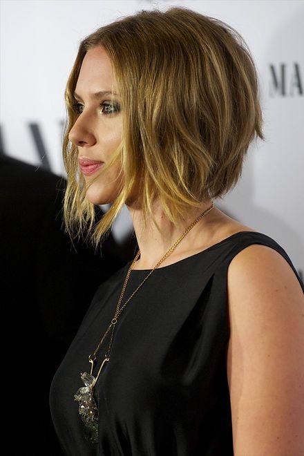 Scarlett Johansson Nowa Fryzura Scarlett Johansson Wp