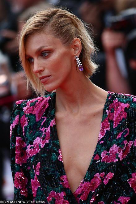 Sukienka Idealnie Dla Niej Anja Rubik W Cannes W