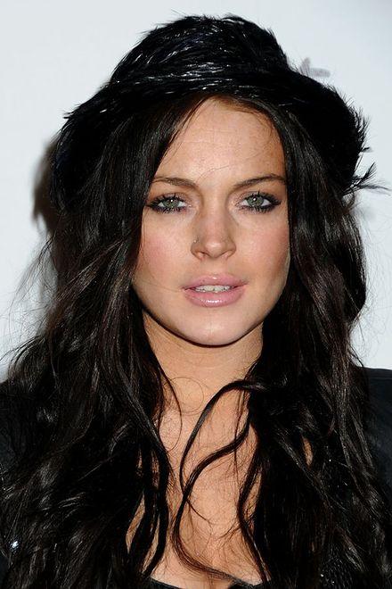 Lindsay Lohan orgia sceny porno z dużym tytułem