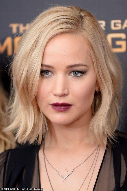 Jennifer Lawrence Ostre Cięcie Gwiazdy Pokochały Boby