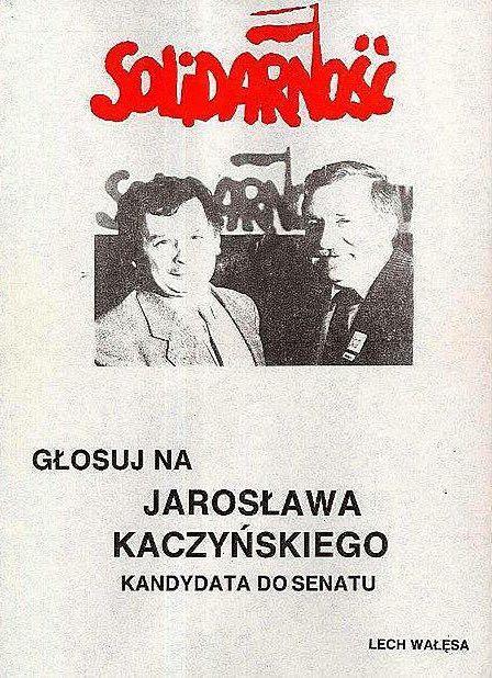 Głosuj na Jarosława Kaczyńskiego!