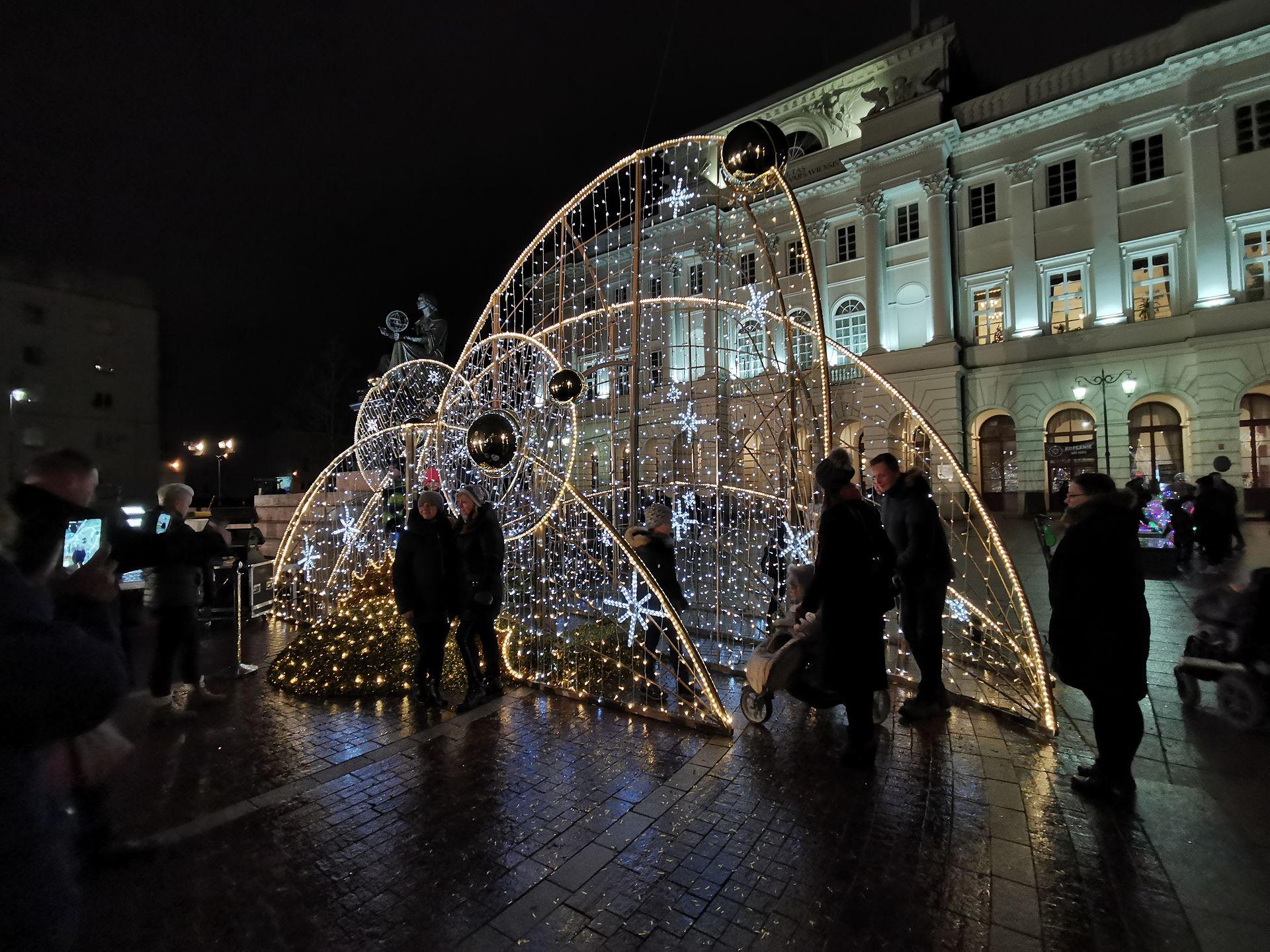 Warszawa gotowa na święta