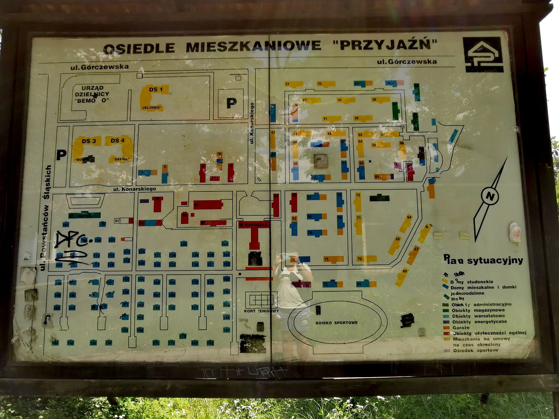 Warszawa. Osiedle Przyjaźń