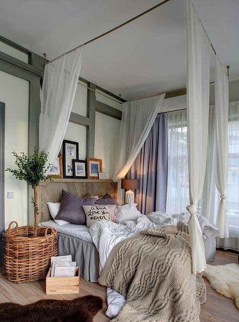 łóżko Z Baldachimem Czyli Aranżacja Sypialni Otulonej Snem