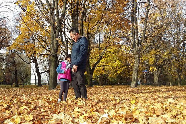 Hoai Nam Trinh z córką