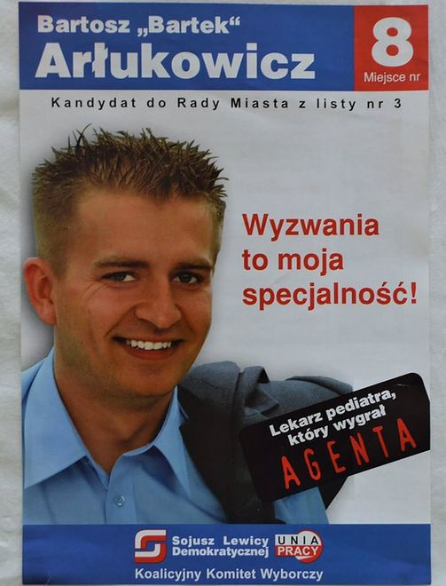 Agent Bartek Plakaty Wyborcze Znanych Polityków Sprzed