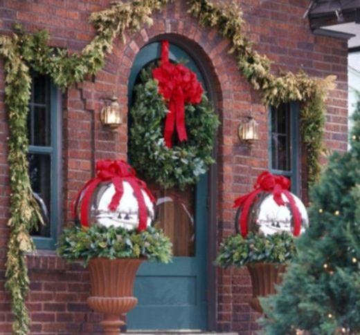 Bożonarodzeniowe Ozdoby Na Elewacji Domu Wp Dom