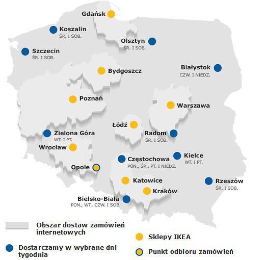 Sklep Internetowy Ikea W Nowych Miastach To Az 10 Lokalizacji