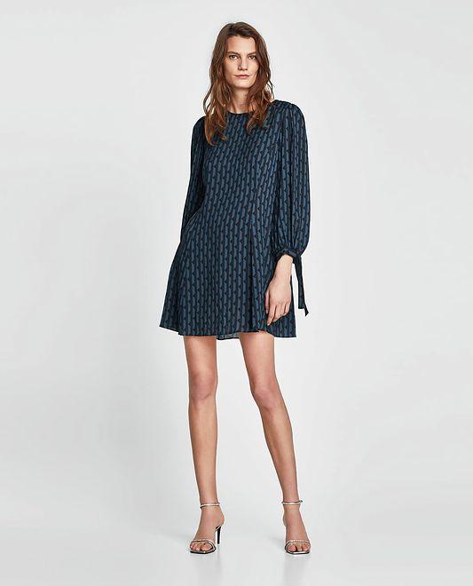 ZARA: sukienka z długim rękawem za 59,90 zł WP Kobieta